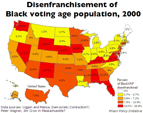 what is criminal disenfranchisement essay