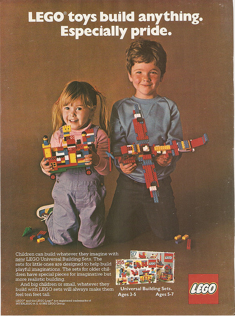Toys For Boys Magazine : Two more inspiring gender neutral lego ads sociological