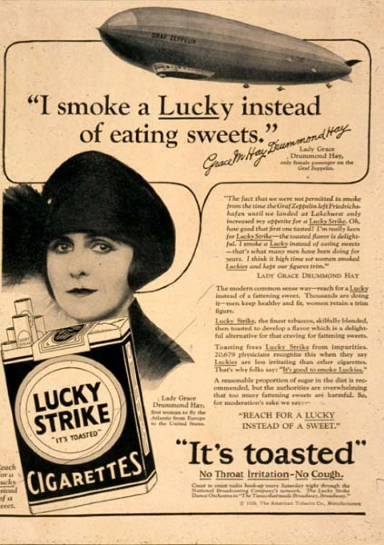 Torches Of Freedom Women And Smoking Propaganda