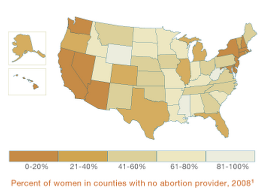 Living Far From The Nearest Abortion Provider Is A Problem Especially For Low Income Women Such Women Are Less Likely To Have An Employer Who Will Give Her