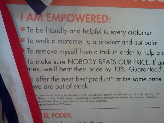 Home Depot Employee Benefits >> Employee Empowerment And Corporate Culture Sociological