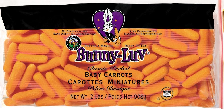 Organic Carrots vs Non Organic Carrots Non-organic Carrots at
