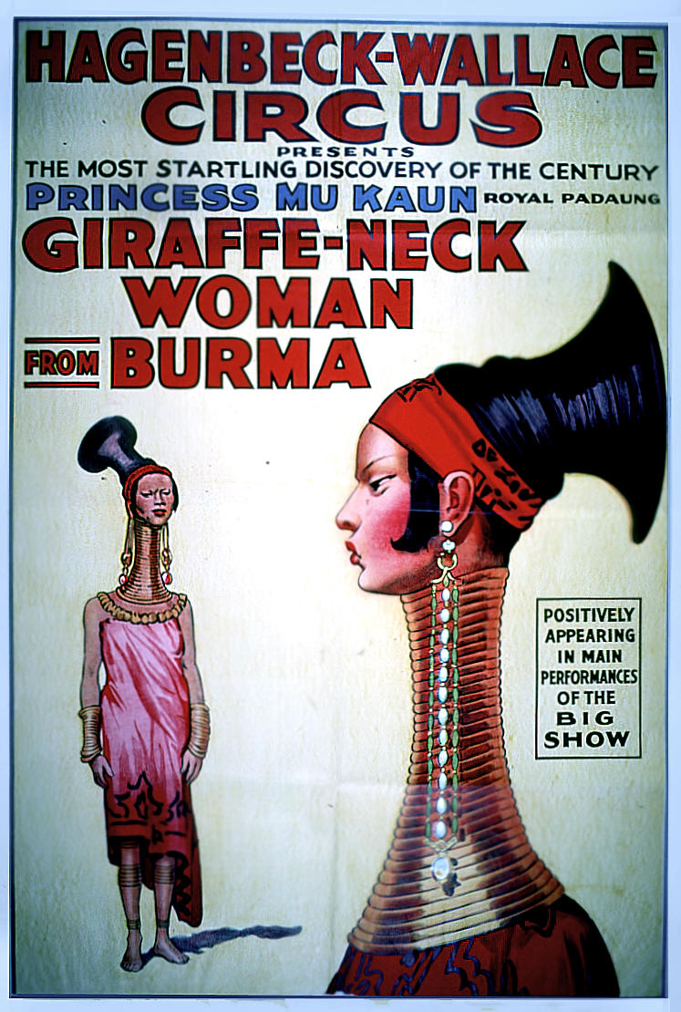 Colonial Circus The Case Of Giraffe-Necked Women -6990
