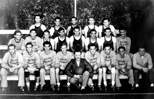 1946 New York Knicks Team Photo