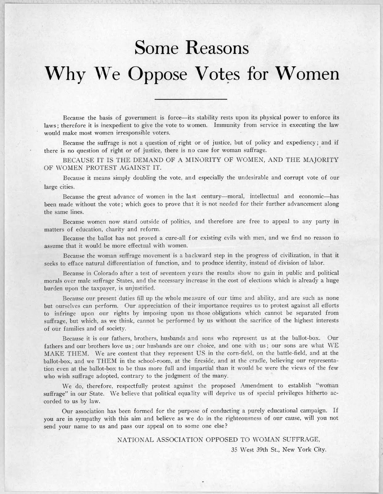 essay on suffragette movement