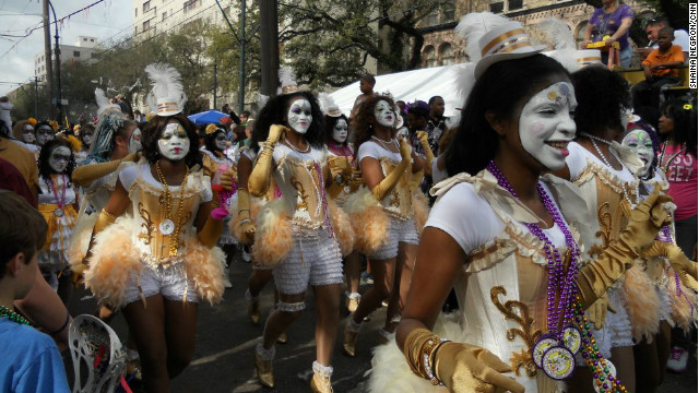 A history of the mardi gras a day of the carnival celebration