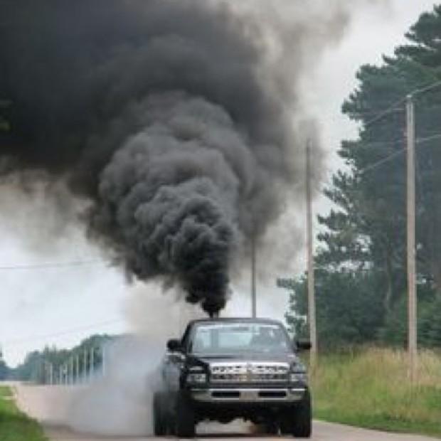 Conspicuous Pollution Rural White Men Rollin Coal