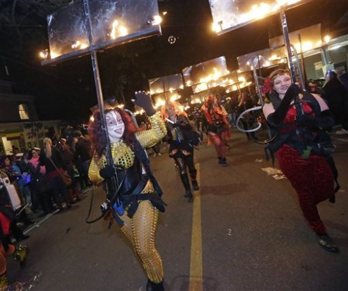 the tradition of the flambeaux in the mardi gras parades Mardi gras: the greatest free show on  spectacular parades with beautiful and creative floats begin parading approximately two weekends prior to mardi gras day.