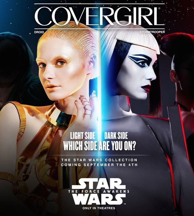 On the insidious sexism of the Covergirl Star Wars collection