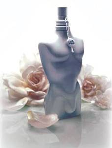 gaultier perfume bottles shaped like bodies sociological