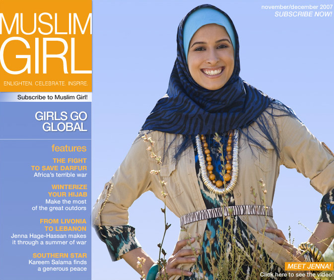 muslim girl is a teen magazine aimed at muslim americans the idea is