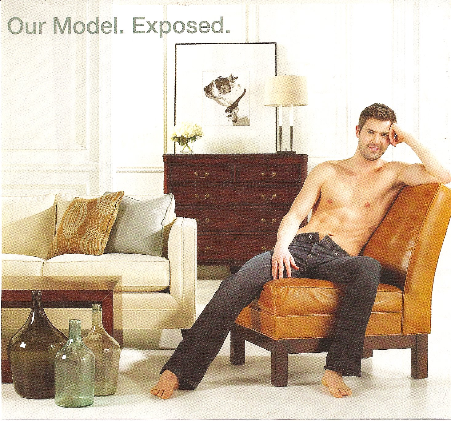 Male Bodies in Interior Design Magazine Ads Sociological Images