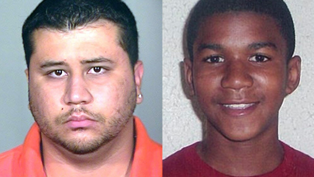 George Zimmerman and Trayvon Martin  Source: CBS/AP