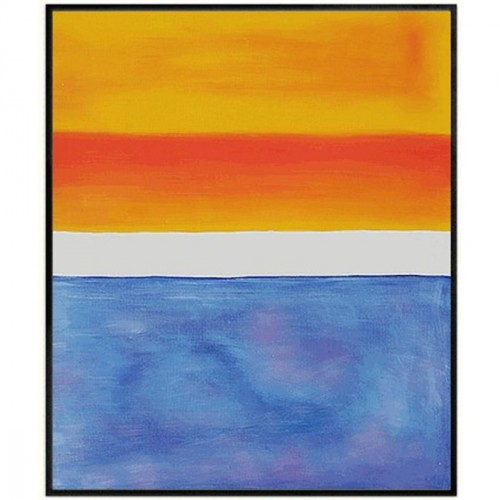 Yellow, Red, Blue Oil Painting by Rothko