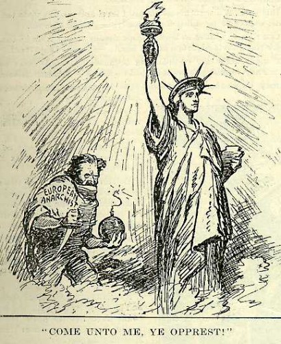 Political Cartoon, July 5, 1919.