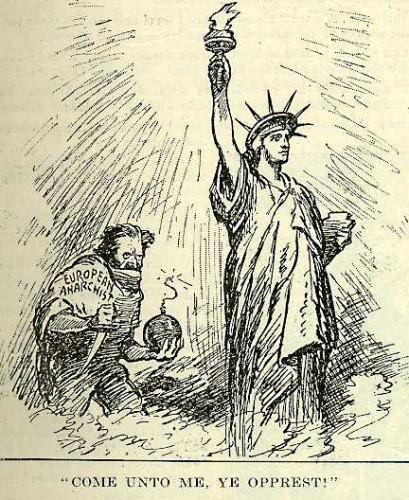 Political Cartoon, July 5, 1919.