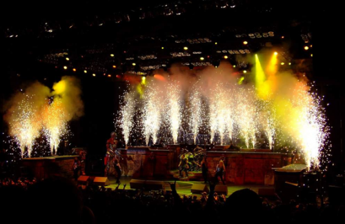 Iron Maiden. Somewhere Back in Time Tour, 2008. Source: Anne Varak