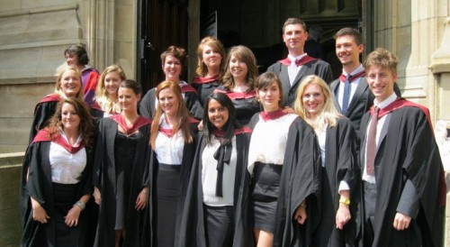 University of Bristol BSc Sociology Graduates, 2011
