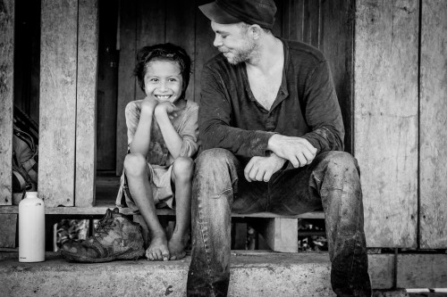 Here is a picture of me and a Sapara boy taken on my camera by a girl in Jandiayacu, the Sapara community where I began my research.