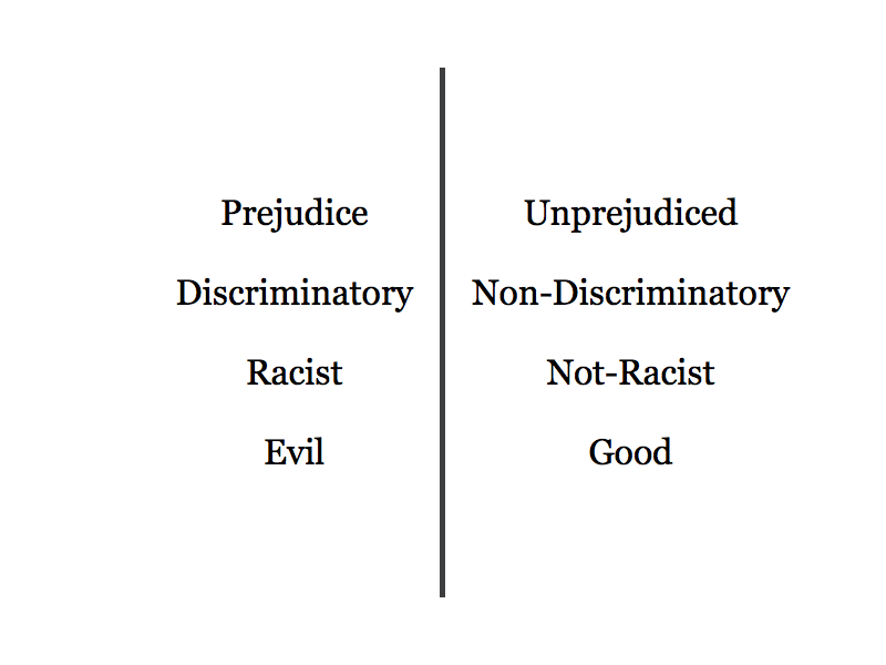 essay about racism and prejudice