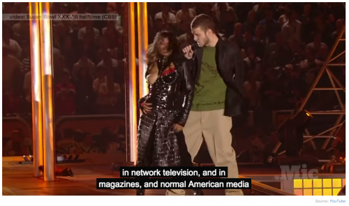 Janet Jackson Performs at Super Bowl