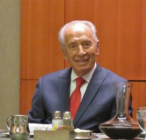 Shimon Peres, current President of the State of israel. Photo by jurvetson via Flickr.com