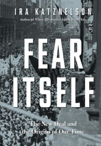 The author's latest book, Fear Itself.