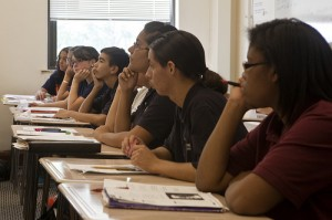 Students at Pritzker College Prep, a charter in California. Photo by Medill News21 via flickr.com.