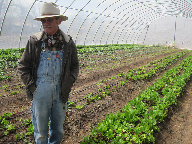 The American Friends Service Committee's ARCA farm program trains developmentally disabled adults in farming professions. Photo by AFSC/Karla Zarate-Ramirez via Flickr.