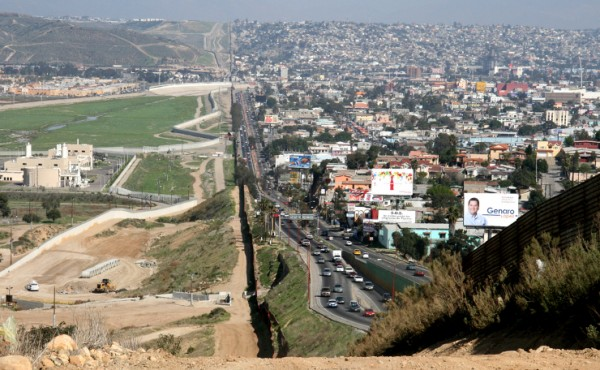The San Diego Tijuana border. Photo by Kordian bia Flickr.com