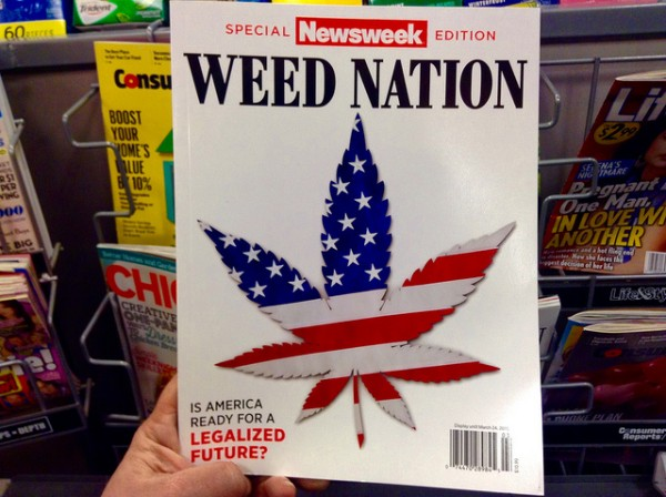 A 2015 special issue of Newsweek. Photo by Mike Mozart, Flickr CC.