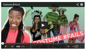 Click to watch Francesca Ramsey on #CostumeFails