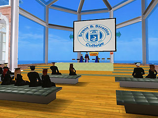 Bryant & Stratton College Second Life Commencement
