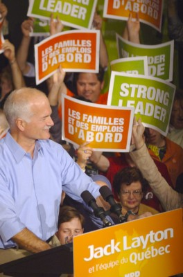 Jack Layton, Leader of the New Democratic Party of Canada