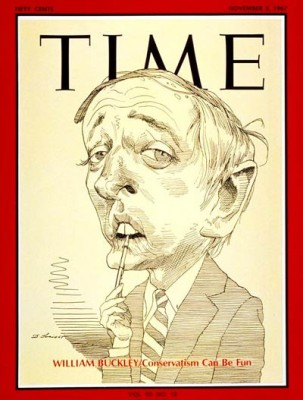 William F. Buckley, Jr. 1925-2008, Time magazine cover, 3 November 1967