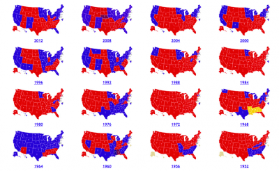 screen s 2014 12 20 at 7 31 10 pm us electoral maps 1952 2012 there s a long road to the 2016 election