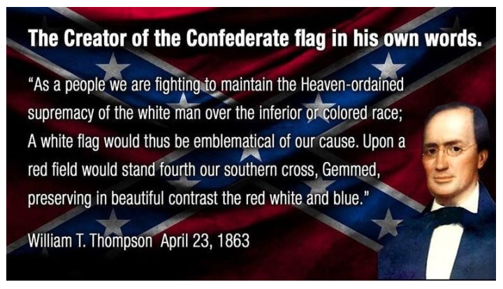 Image result for confederate flag meaning