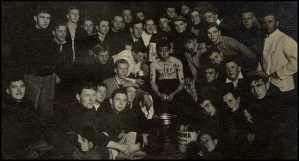 Hazing at the University of Michigan in 1907. Photo via VasenkaPhotography, Flickr CC.